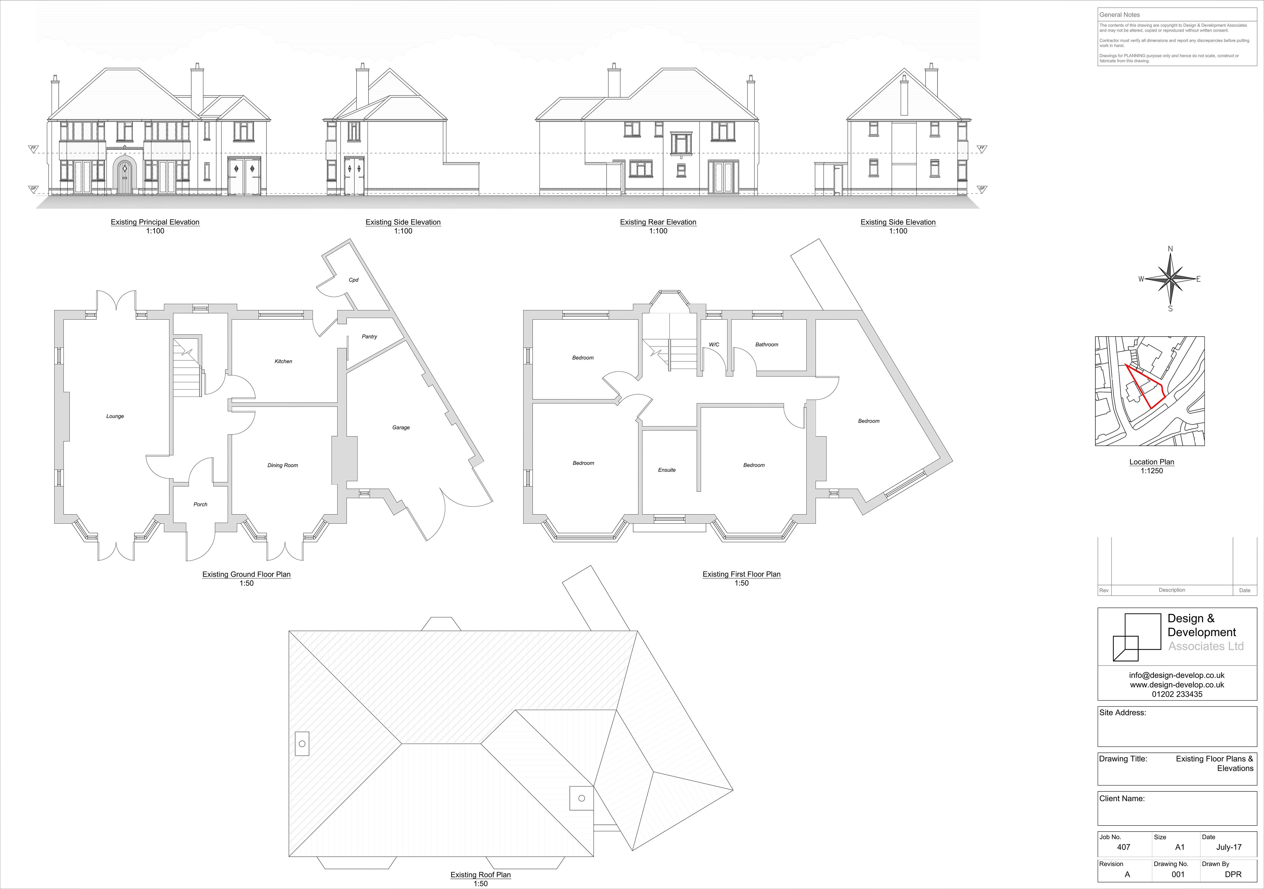 Existing Floor Plans