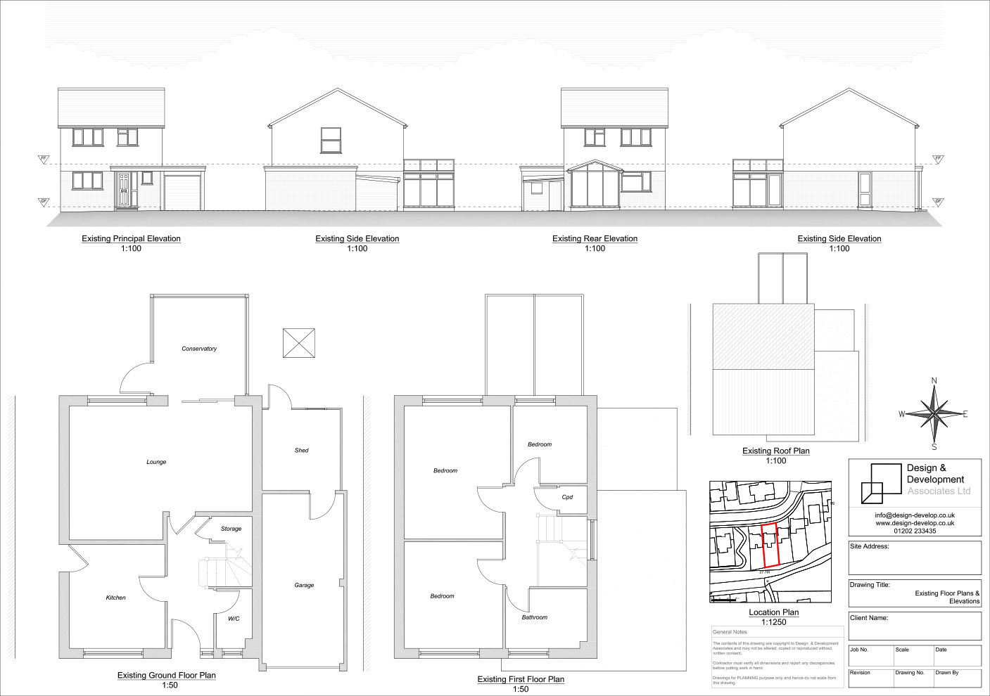 House extension approved in poole for Extension floor plans