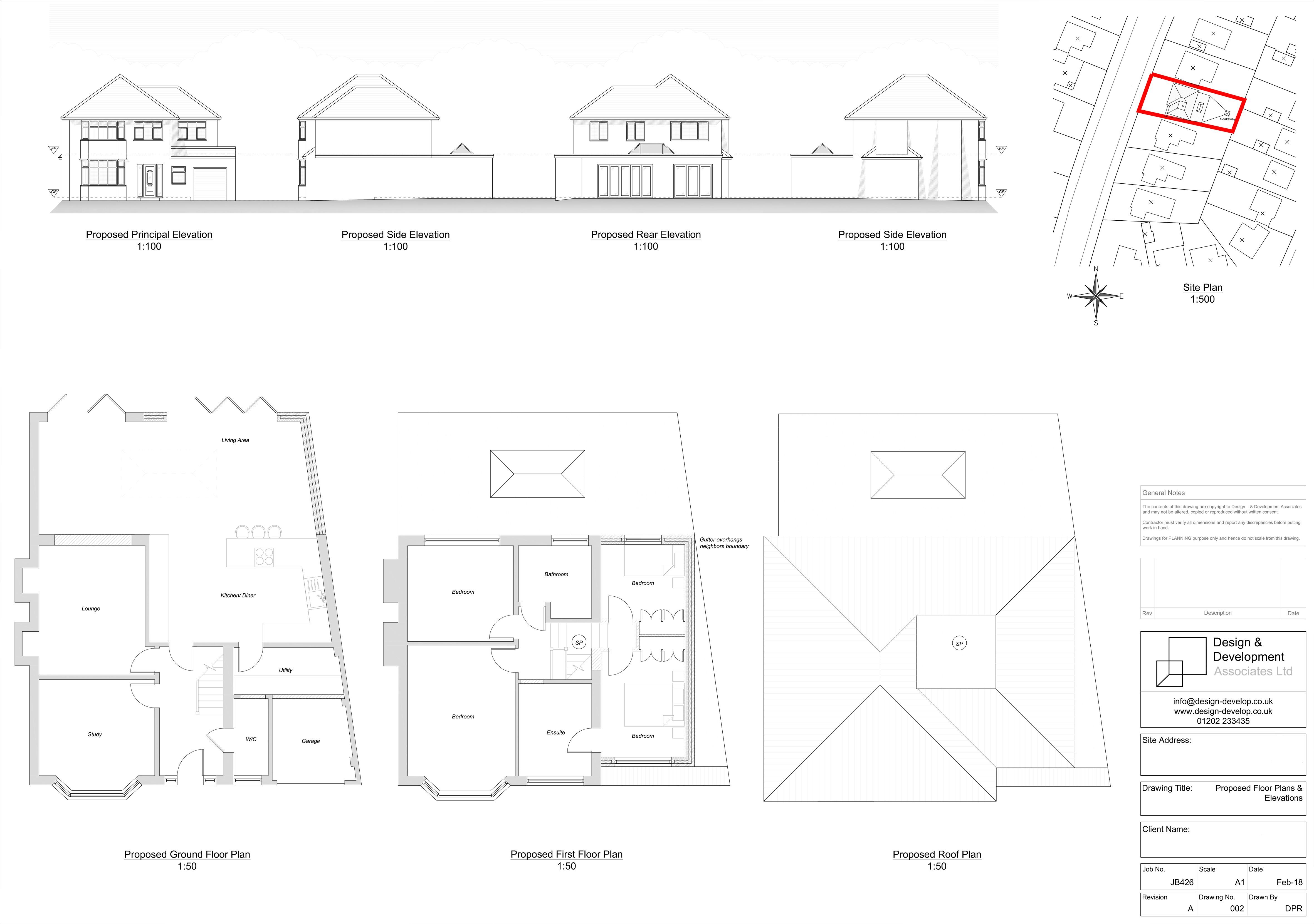 JB-426 123 Seafield Road Proposed
